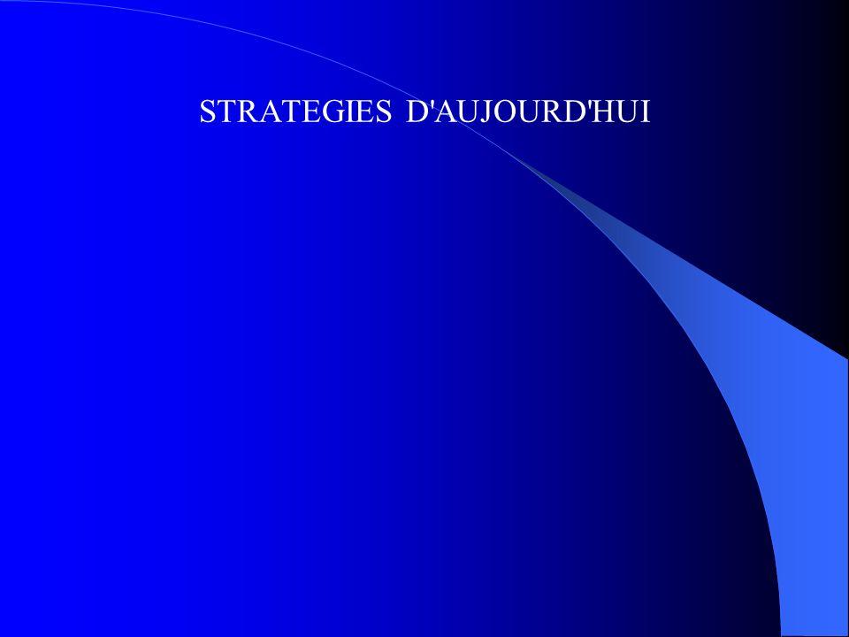STRATEGIES D'AUJOURD'HUI