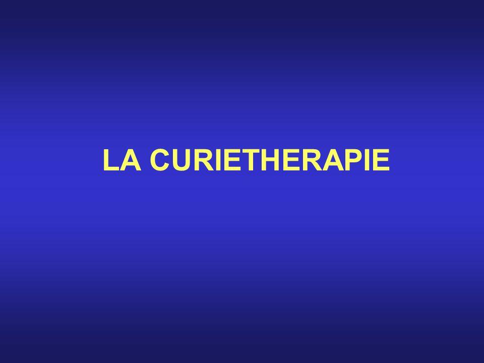 LA CURIETHERAPIE