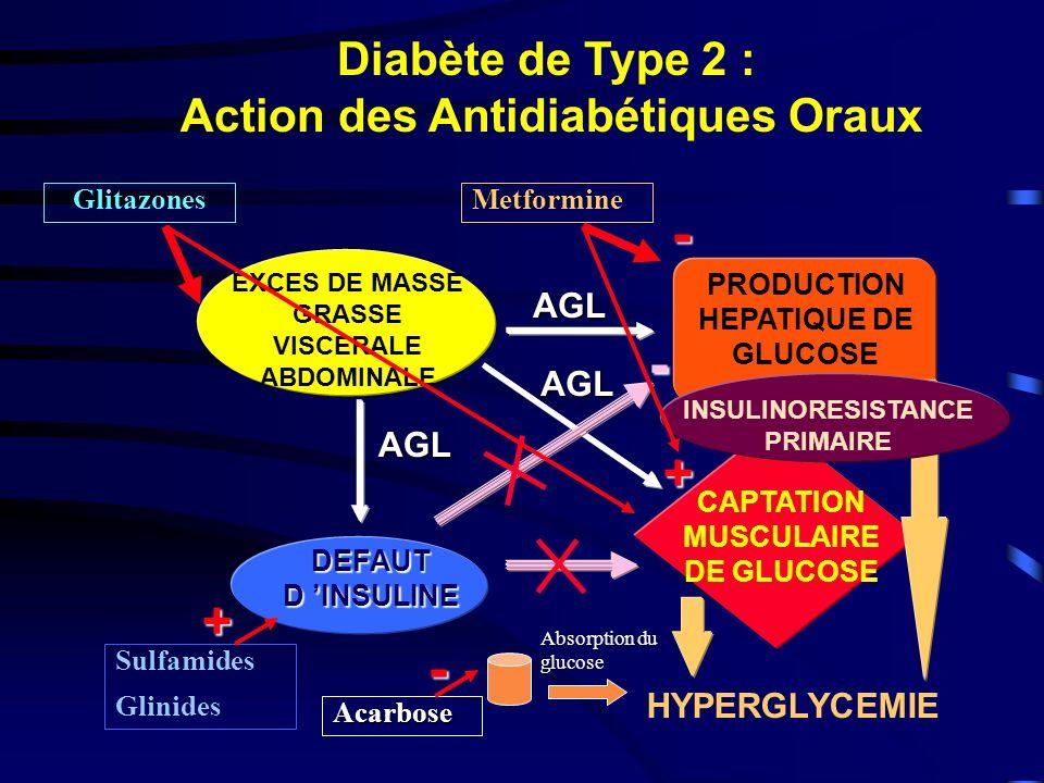 Application de laction incrétine du GLP-1 dans le diabète de type 2 Meier et al, J Clin Endocrinol Metab, 2003 Ralentissement de la vidange gastrique Redynamisation de la sécrétion dinsuline