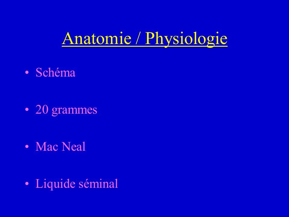 Techniques validées Incision Cervico-Prostatique : jeune, HBP < 30 g +ou – lobe médian (éjaculation rétrograde 10 %, RTUP secondaire) Résection trans-uréthrale de la prostate : standard (éjaculation rétrograde 90 %, incontinence 1 %, bactériurie post- op 20 %, réintervention 10 %) Adénomectomie : HBP > 80 g (transfusion 10 %, laparotomie)