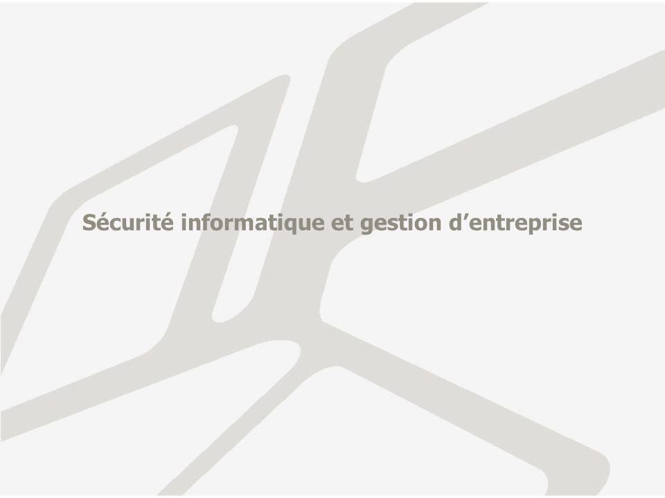 Sécurité informatique et gestion dentreprise