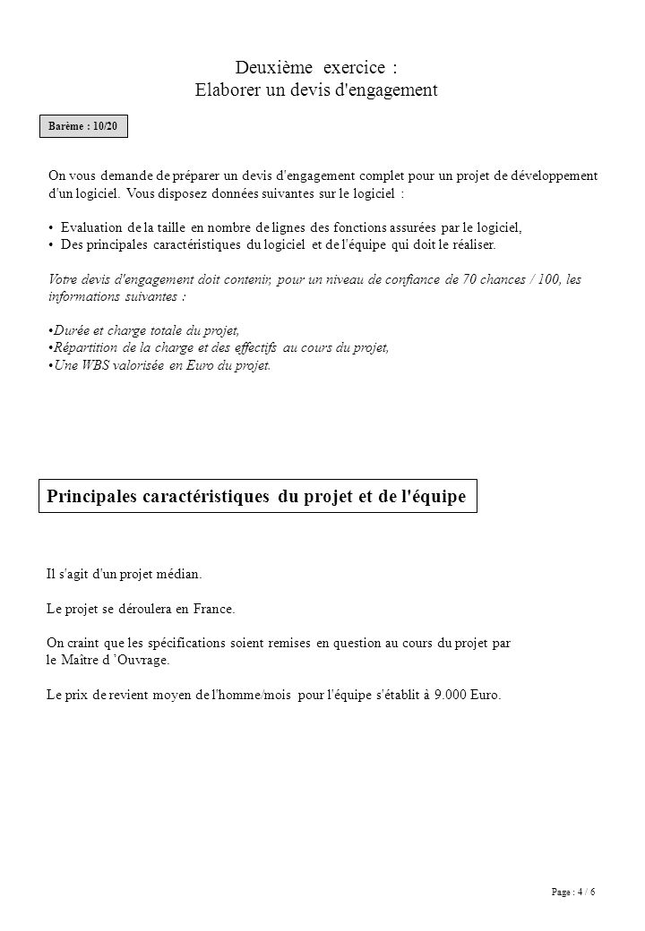 Page : 5 / 6 Fonctions VOUS Ing.1 Ing.