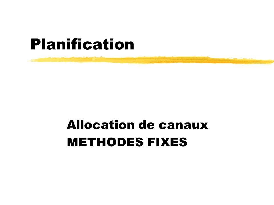 Stéphane Ubéda et Fabrice Valois ARM Chapitre 718 Gestion des canaux zFCA : fixed channel allocation yLa région est divisée en cellules, chaque cellul