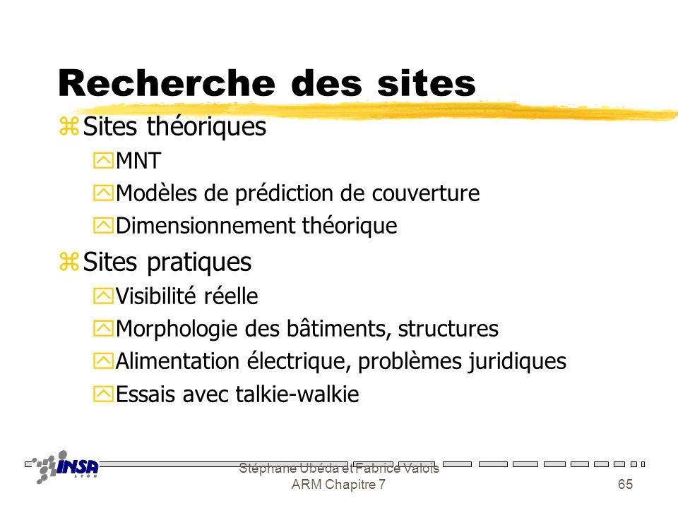 Stéphane Ubéda et Fabrice Valois ARM Chapitre 764 Channel segregation IDLE BUSY