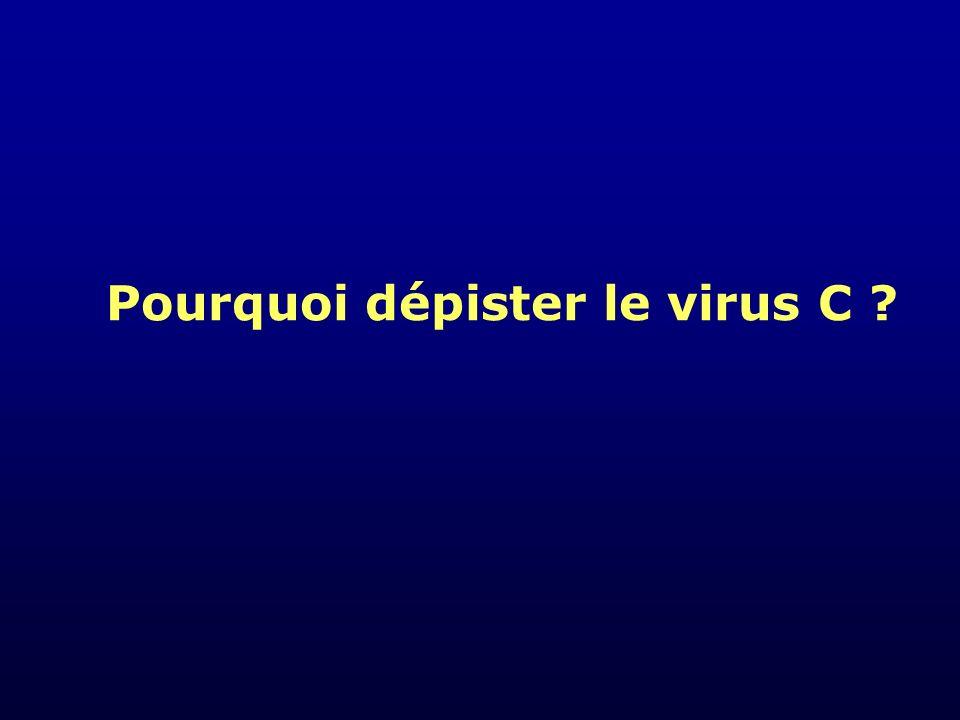 Pourquoi dépister le virus C ?