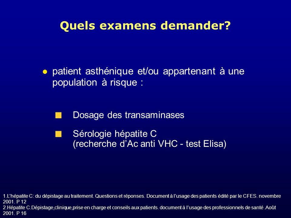 (1) EASL International Consensus conference on Hepatitis C.