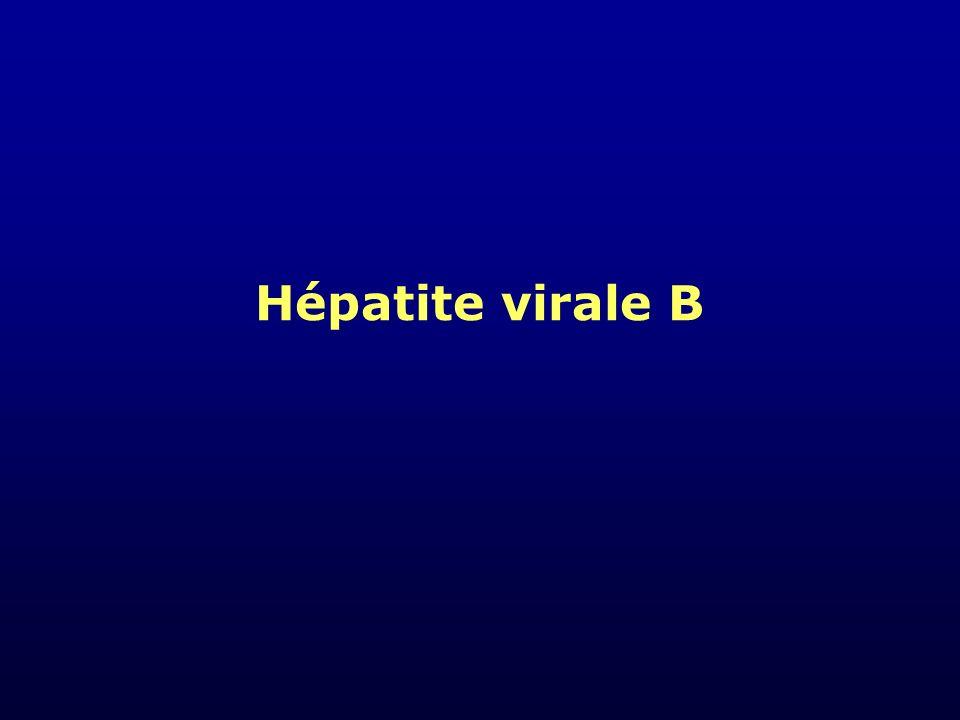 Les hépatites virales ABCDeltaE VirusVHAVHBVHCVHDVHE GénomeARNADNARN TransmissionOrofécale PARENTÉRALE SEXUELLE ORALE Parentérale Sexuelle Parentérale Sexuelle Orofécale Incubation (Semaines) 2-64-28 [24s] 4-12 3-6 Hépatite chronique -+++ - Maladies infectieuse et tropicales.