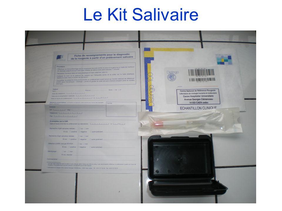 Le Kit Salivaire