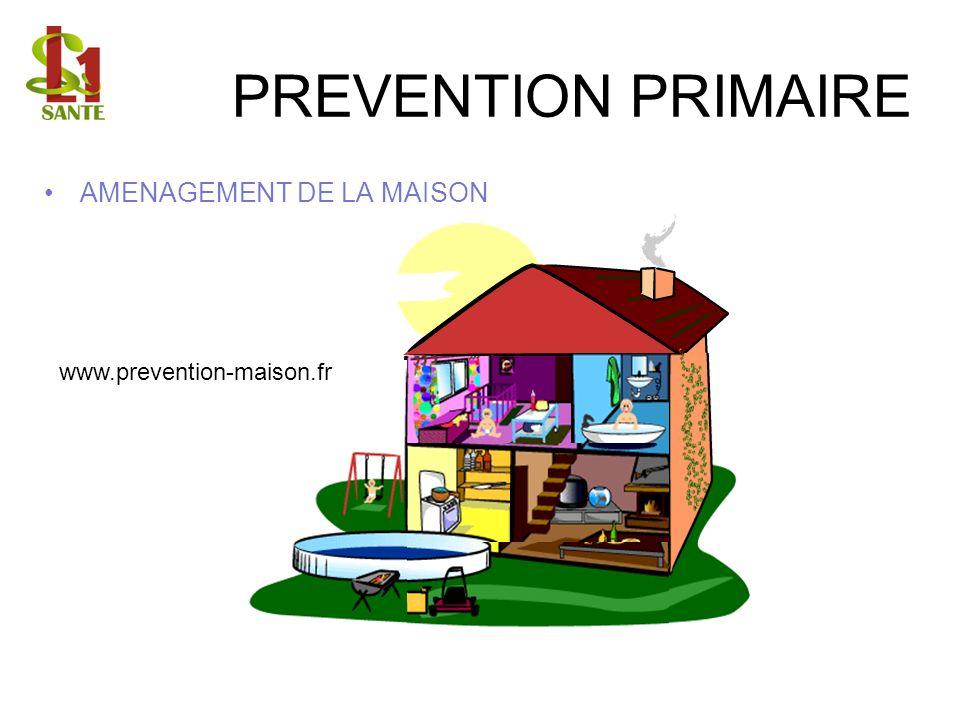 AMENAGEMENT DE LA MAISON www.prevention-maison.fr