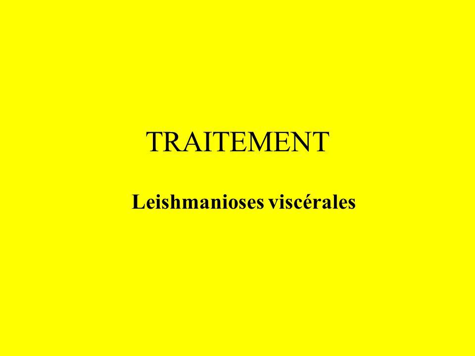 TRAITEMENT Leishmanioses viscérales