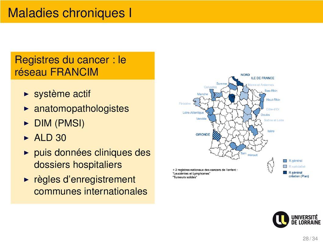 Maladies chroniques I
