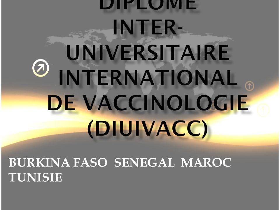 Unités denseignement Eléments constitutifs Contenu VACCINOLOGIE GENERALE (Pr.