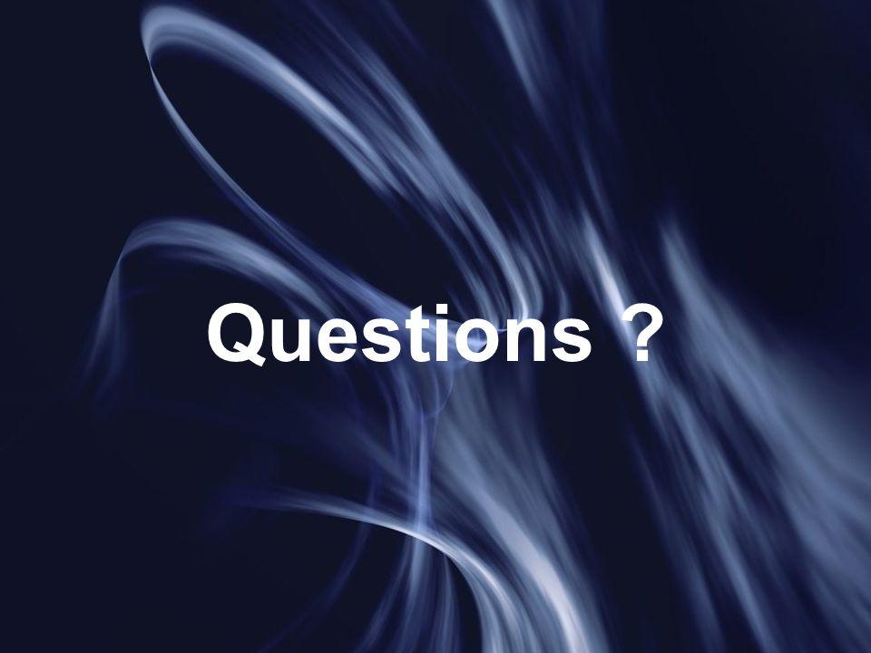 17 juin 2005A. Laverdunt - FIIFO 415 Questions ?