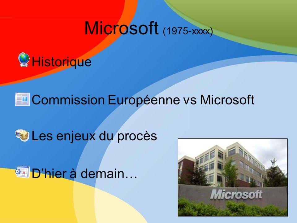 Limite de largumentaire Microsoft plaide en dénonçant « une atteinte aux droits à la propriété intellectuelle » Laccès aux sources même des systèmes dexploitation Windows nest pas requis par la commission.