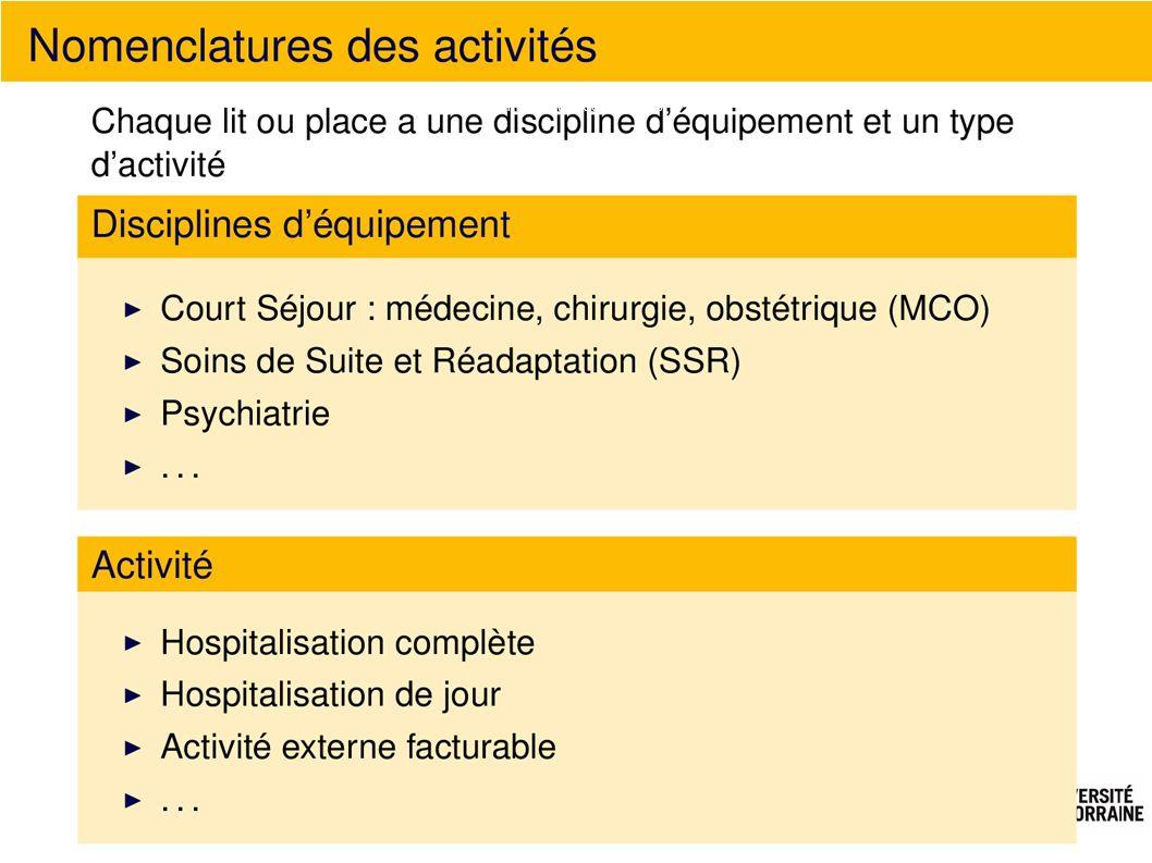 Nomenclature des activités
