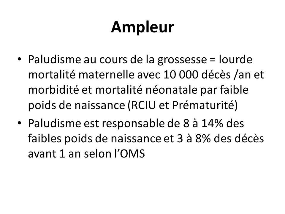Paludisme congénital Distinguer 2 tableaux: – Paludisme congénital-infestation: parasitémie asymptomatique; 4-46,7% selon Uneke CJ.