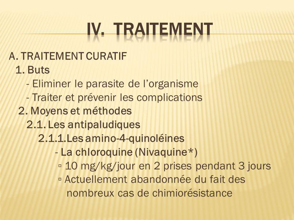 A.TRAITEMENT CURATIF 1.