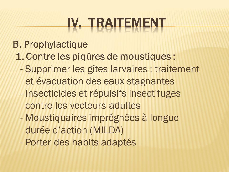B.Prophylactique 1.