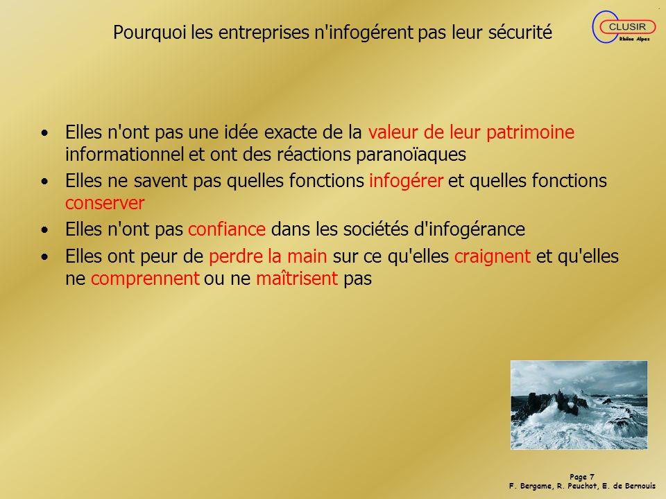 Page 27 F.Bergame, R. Peuchot, E. de Bernouis 4.