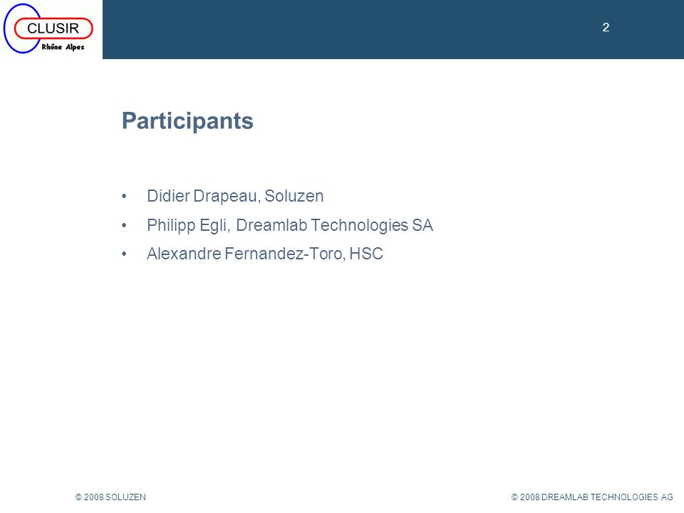 13 © 2008 DREAMLAB TECHNOLOGIES AG© 2008 SOLUZEN OSSTMM historique 13 Depuis 2001 (Version actuelle 3.0) Edité par ISECOM (Institute for Security and Open Methodologies) Concept pour « mesurer » la sécurité des systèmes operationels Scientifique (Transparence / Reproductibilité) Université de La Salle (Barcelone) qui inclus les formations OPSA et OPST dans leur programme MBA (ECTS).