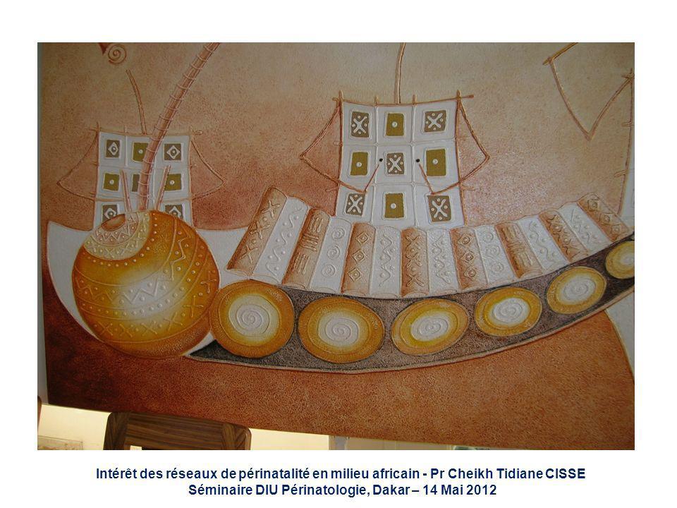 Intérêt des réseaux de périnatalité en milieu africain - Pr Cheikh Tidiane CISSE Séminaire DIU Périnatologie, Dakar – 14 Mai 2012