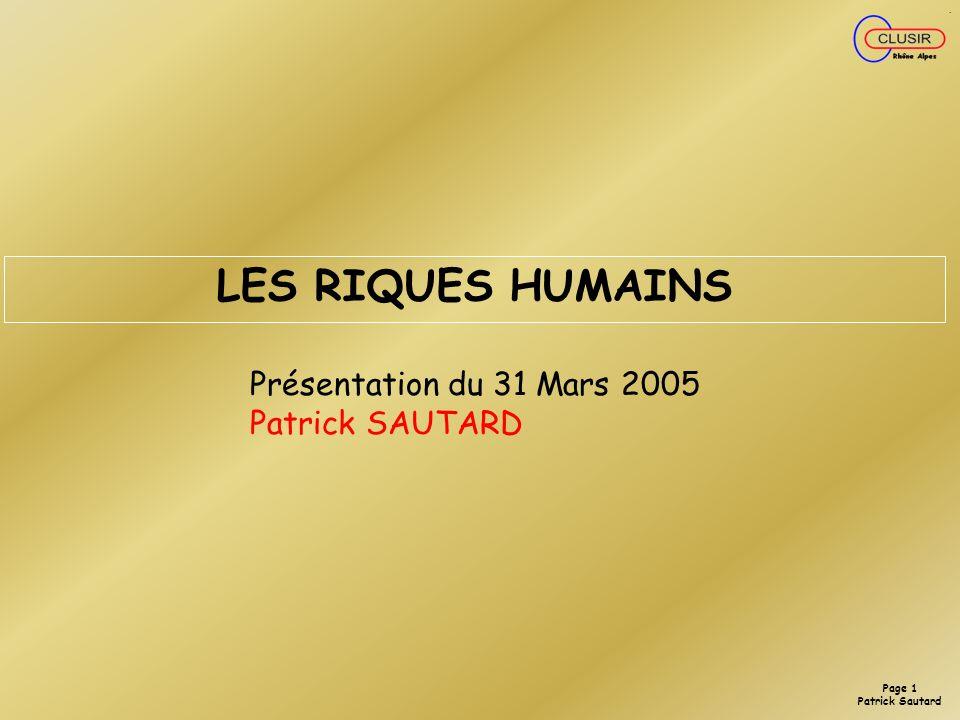 Page 0 Patrick Sautard
