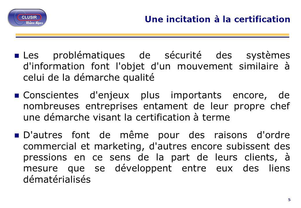 26 FIPS 140-1 (présentation) n Security Requirements for Security Modules n Norme américaine issue du ministère de lindustrie n Surtout utilisé pour les cartes/boitiers de sécurité dorigine anglo-saxone n Peu utilisé pour les logiciels
