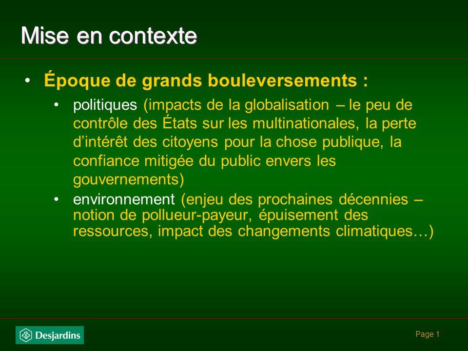 Gouvernance éthique Pauline DAmboise Secrétaire générale du Mouvement Desjardins © Tous droits réservés
