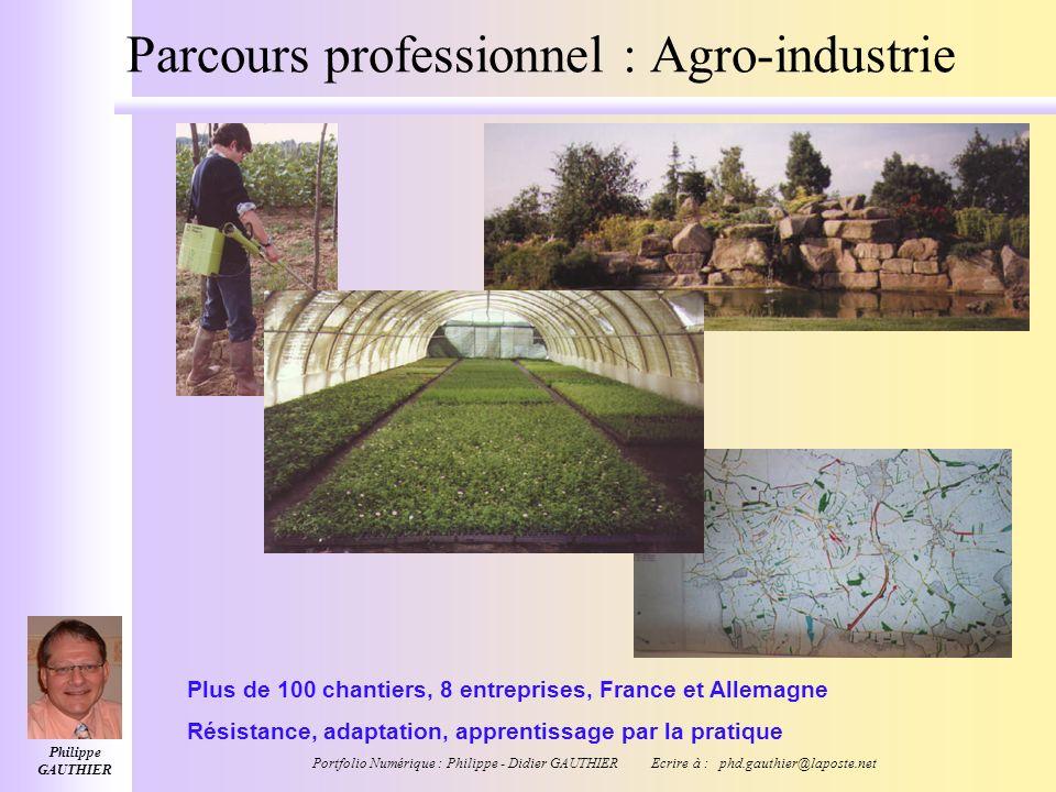 Philippe GAUTHIER Portfolio Numérique : Philippe - Didier GAUTHIER Ecrire à : phd.gauthier@laposte.net Parcours professionnel Bac+4 Gestion Bac+3 Gest