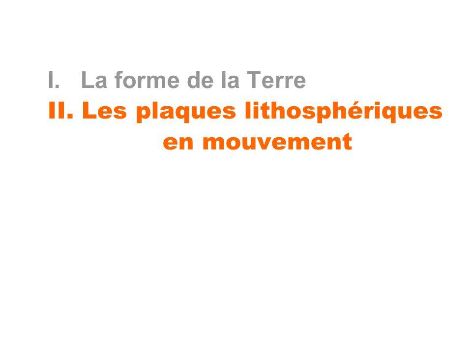 1- DEFINITION d une PLAQUE LITHOSPERIQUE - Mécanique - Sismologique - Thermique - Rhéologique