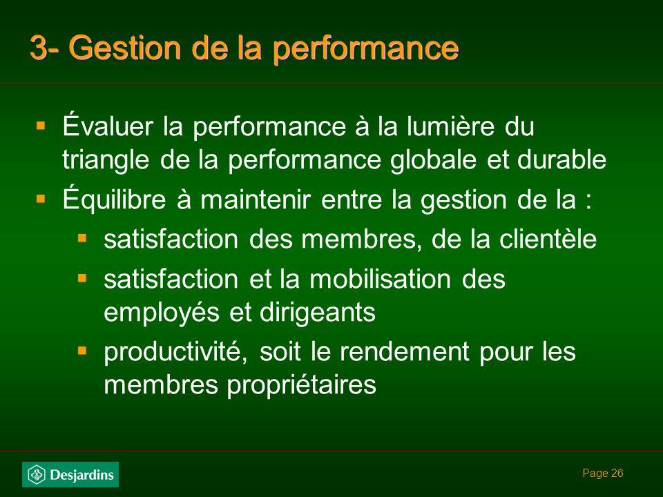 Page 25 fonde les principales dispositions organisationnelles (la structure, le personnel, le système de récompense et les contrôles)