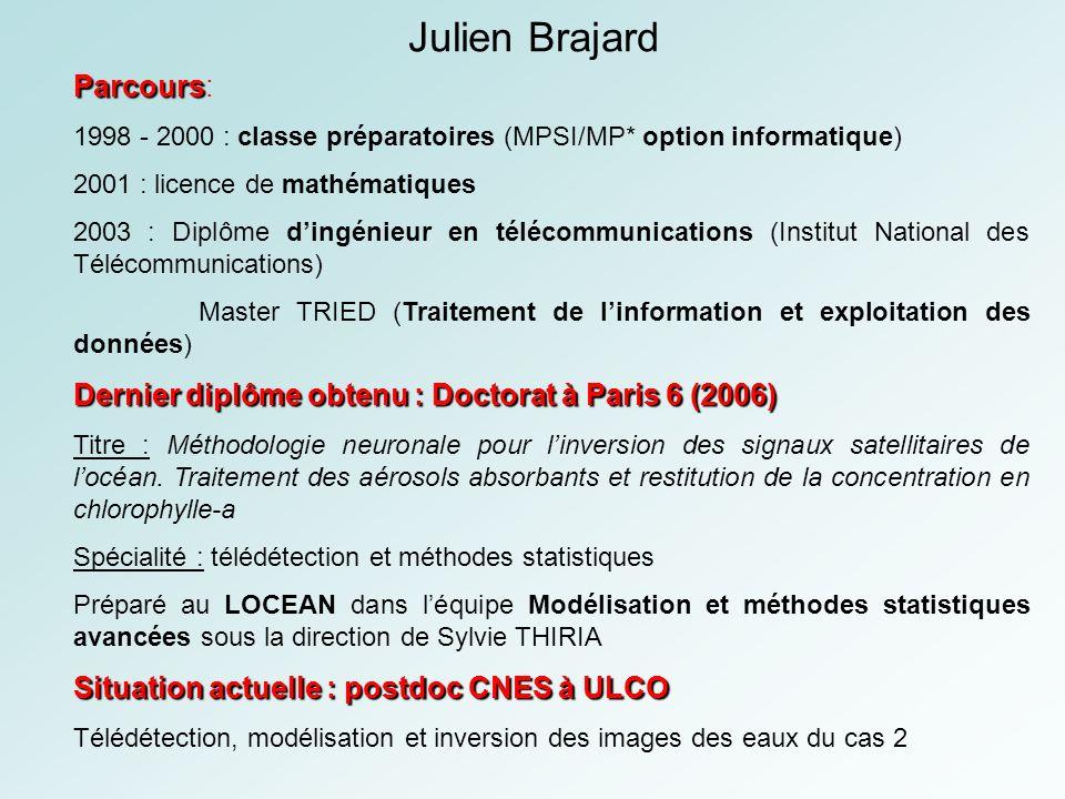 Parcours Parcours: 1998 - 2000 : classe préparatoires (MPSI/MP* option informatique) 2001 : licence de mathématiques 2003 : Diplôme dingénieur en télé