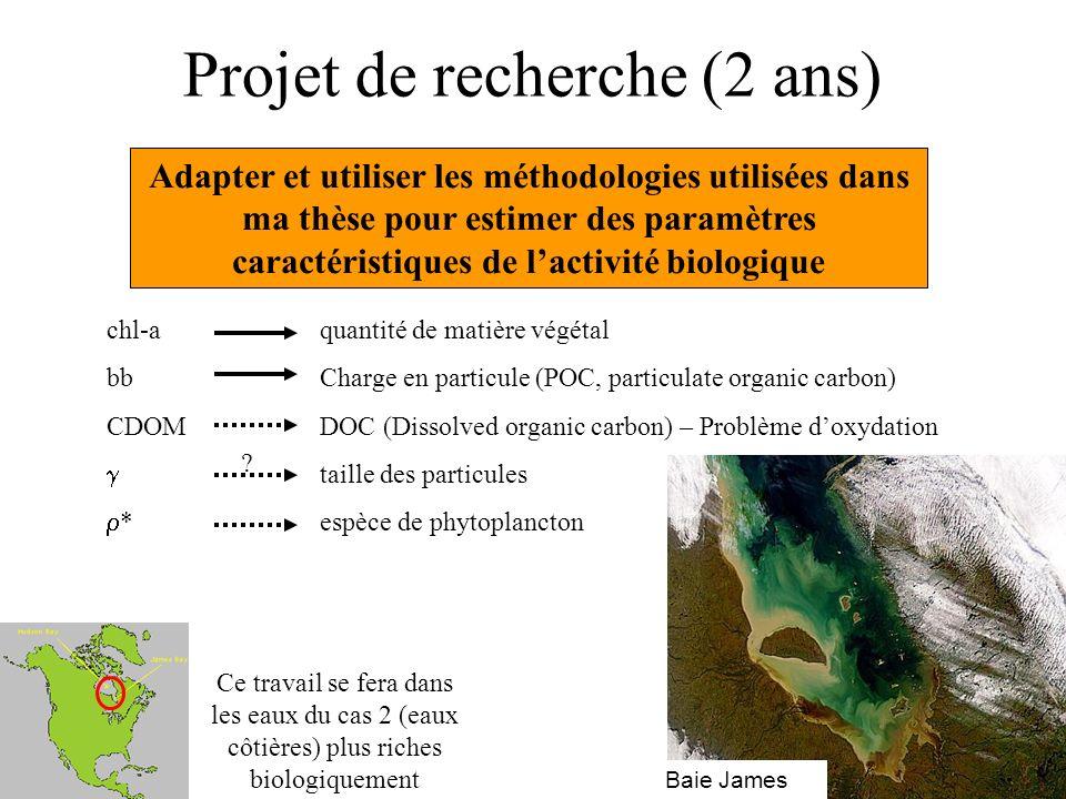 Projet de recherche (2 ans) Adapter et utiliser les méthodologies utilisées dans ma thèse pour estimer des paramètres caractéristiques de lactivité bi