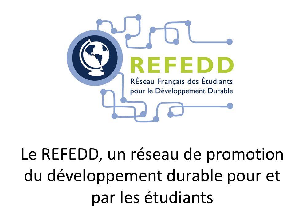 Le REFEDD, un réseau de promotion du développement durable pour et par les étudiants
