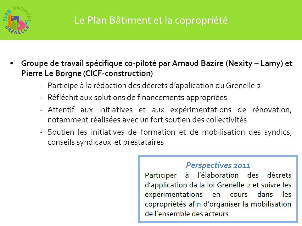 Merci de votre attention Télécharger le rapport dactivité 2010 du Plan Bâtiment sur : www.plan-batiment.legrenelle-environnement.fr