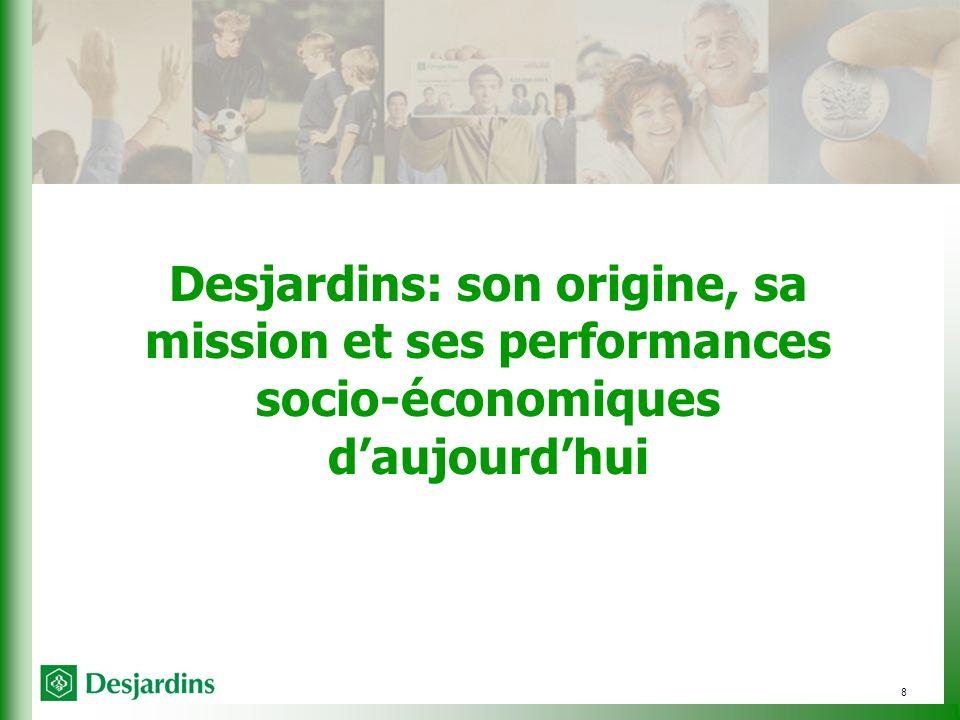 8 Desjardins: son origine, sa mission et ses performances socio-économiques daujourdhui