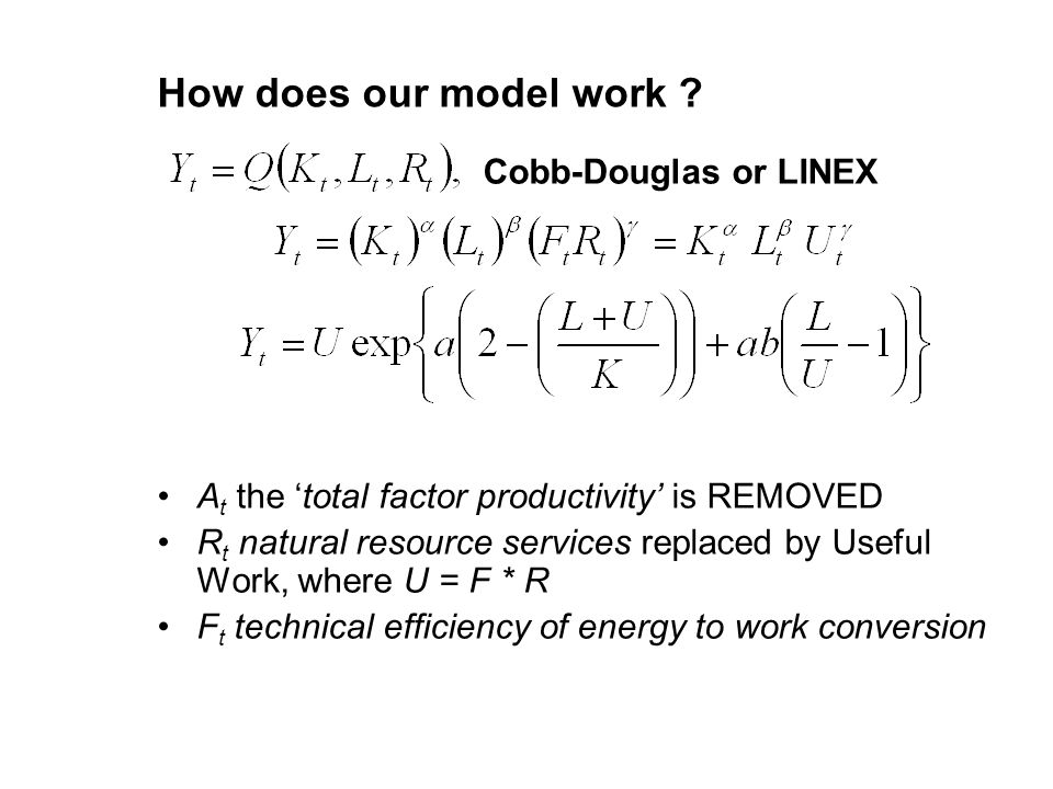 How does our model work .
