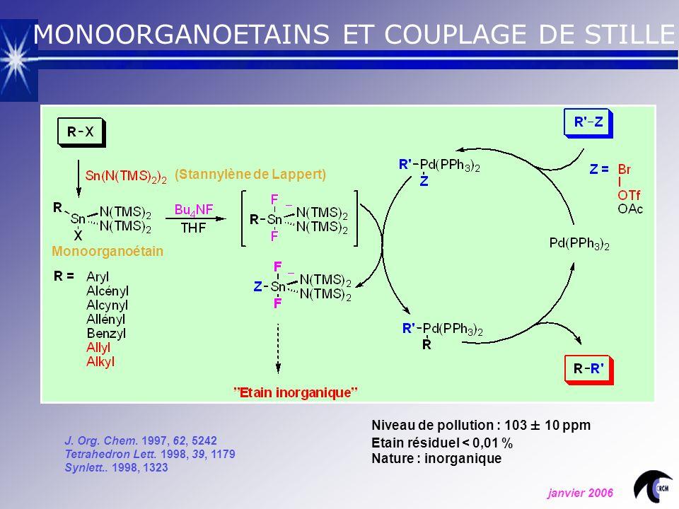 J.Org. Chem. 1997, 62, 5242 Tetrahedron Lett. 1998, 39, 1179 Synlett..