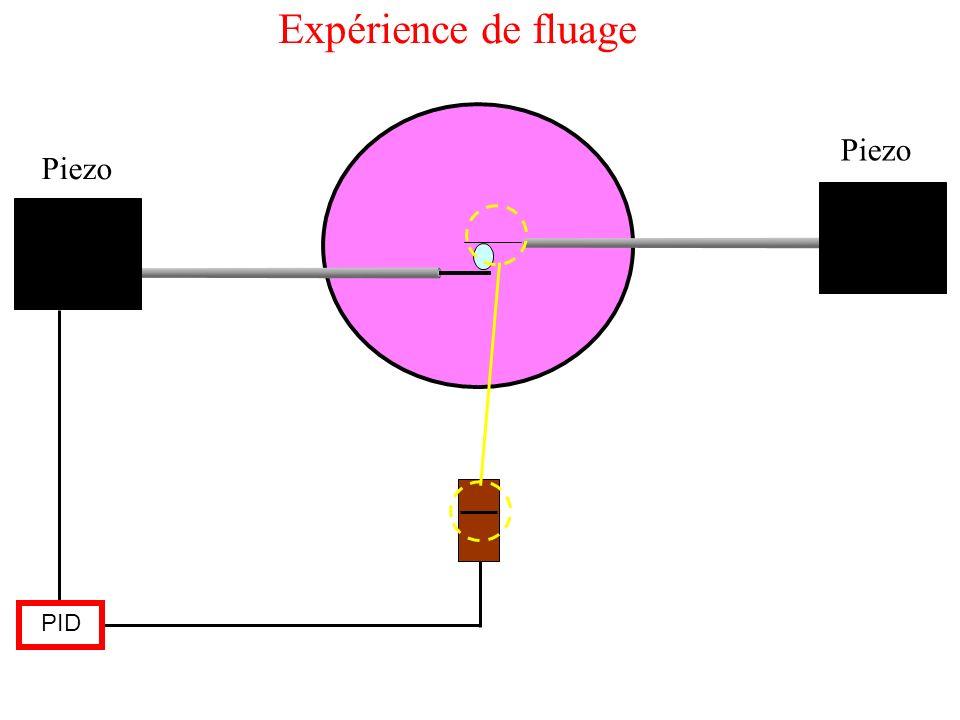 Piezo PID Expérience de fluage