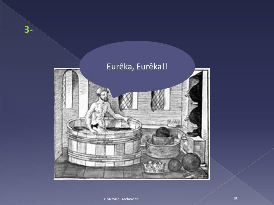 F. Salaville, Archimède 15 Eurêka, Eurêka!! 3-