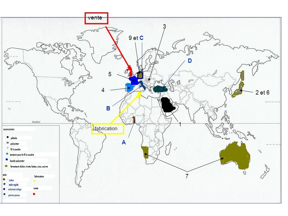 Mise en perspective : À léchelle mondiale des pôles et des flux Supports documentaires : -Planisphère des pôles et des flux du commerce mondial -Texte « La révolution des conteneurs » daprès A.