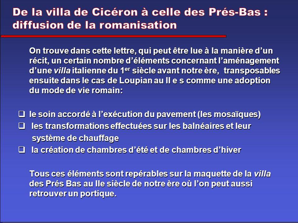 Dautres études de cas possibles sur le thème des villae gallo- romaines sur Villasromaines.free.fr
