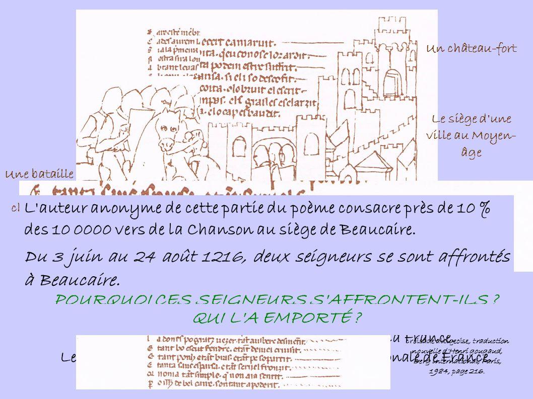 I.DEUX SEIGNEURS POUR UN TITRE. Situons Beaucaire.