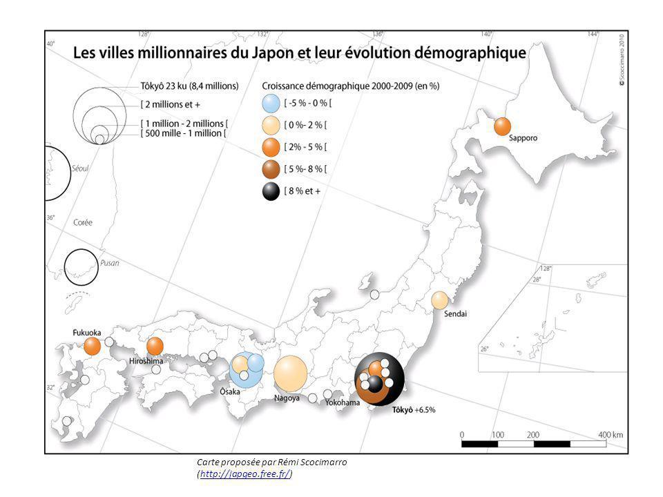 Carte proposée par Rémi Scocimarro (http://japgeo.free.fr/)http://japgeo.free.fr/