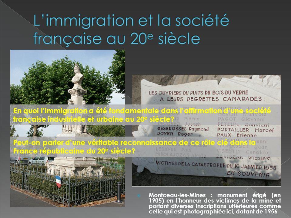 Evolutions du nombre détrangers en France et de leurs nationalités.