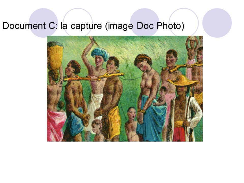 1- Qui est capturé (doc B).