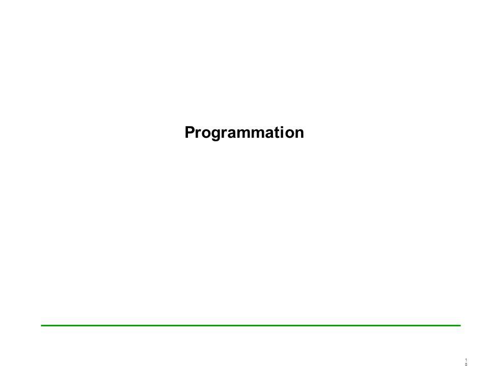 1818 Programmation