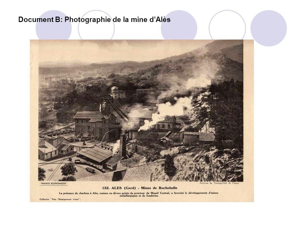 Document B: Photographie de la mine dAlès