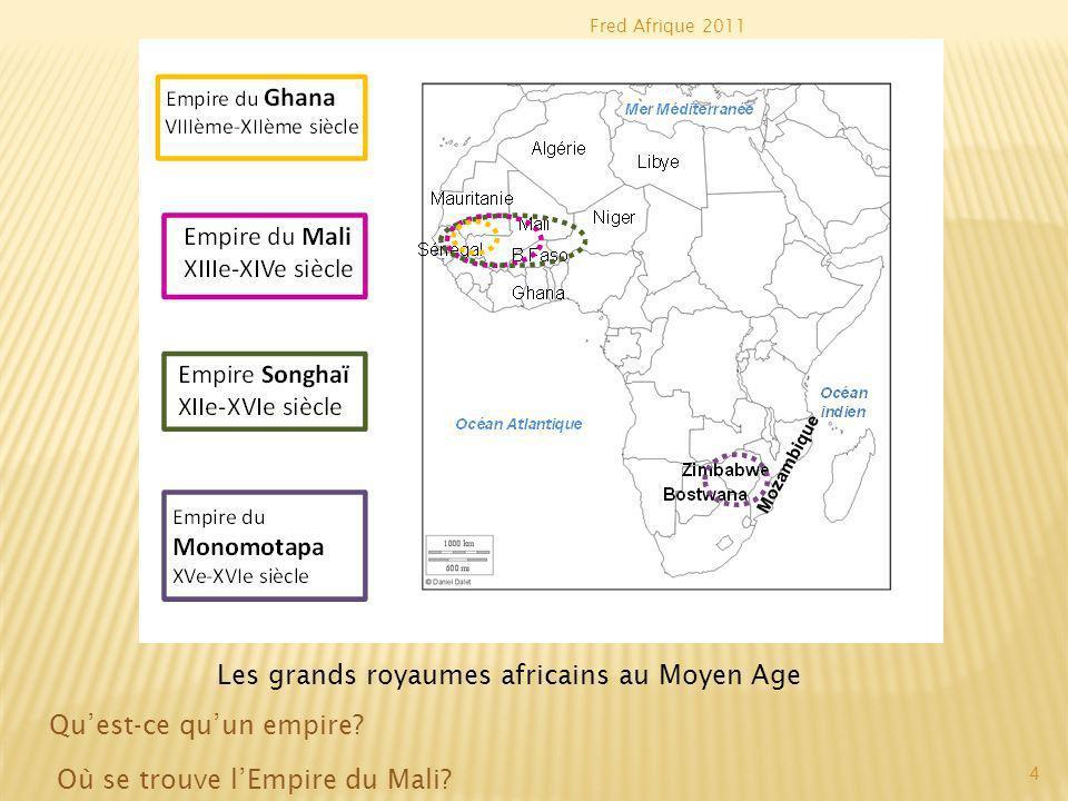 Fred Afrique 2011 Les ethnies et peuples en Afrique Pourquoi était-il difficile de créer un Empire dans cette partie de lAfrique .