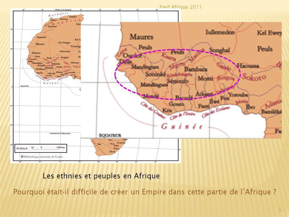 Fred Afrique 2011 Les grands royaumes africains au Moyen Age Quelle est lautre difficulté qua rencontrée le nouvel Etat .